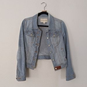 Anthropologie Pilcro railroad distressed jacket